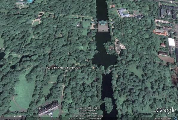 تصویر ماهواره ای پارک لازینکی