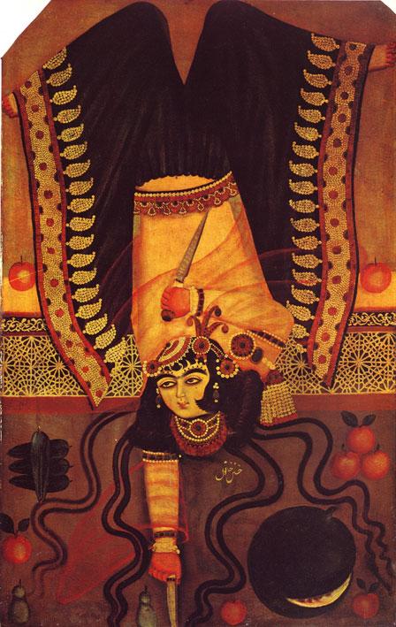 رقصنده ، احتمالا مربوط به عهد فتحعلی شاه قاجار